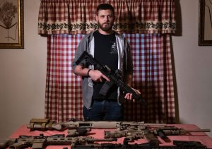 Nick Grimes at his home in Oakmont on Friday, Dec. 21, 2018. Justin Merriman | American Reportage | for Postindustrial