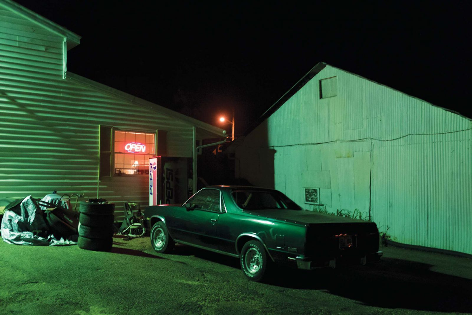Postindustrial, Where tobacco is king. Photos by Michael Swensen