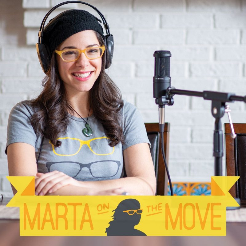 Postindustrial Audio, Marta On the Move Podcast
