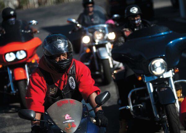 Postindustrial Ronin MC Motorcycle Riders