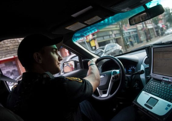 Postindustrial, Here's how Pittsburgh cops are working to predict the future. By Zach Goldstein. Photo Associated Press