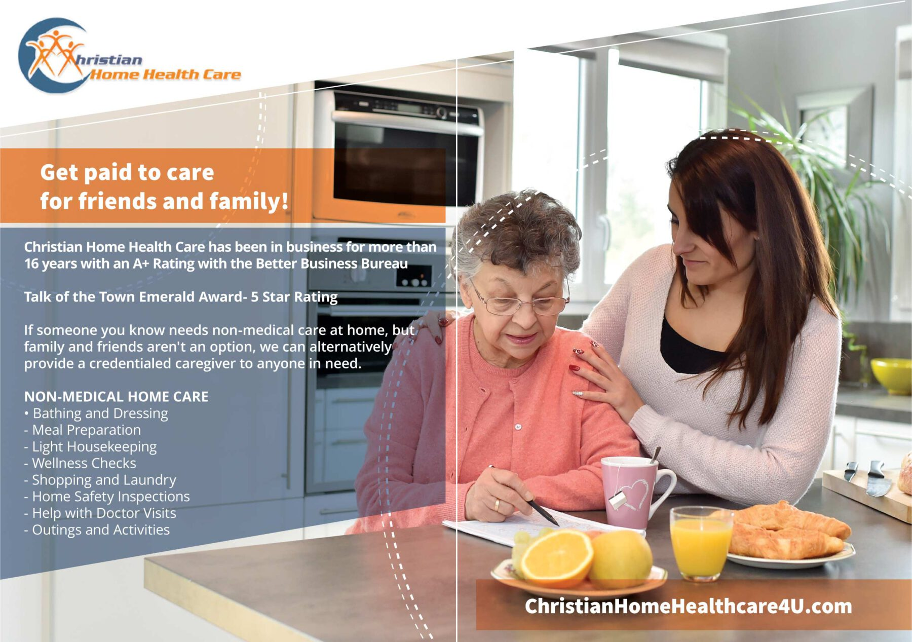 Postindustrial Partner ad Christian Home Health Care