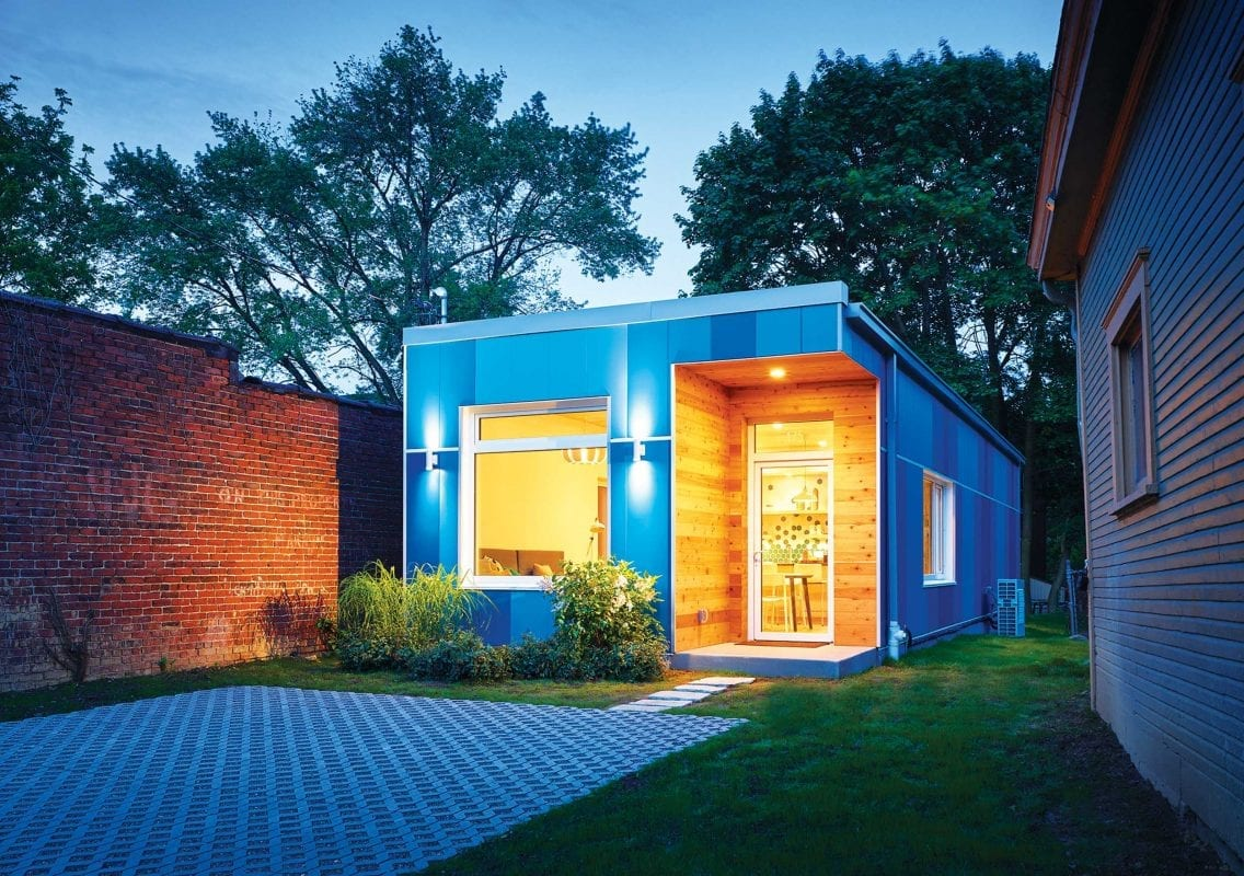 Postindustrial, Module sells houses that grow with their owners, By Michael Machosky