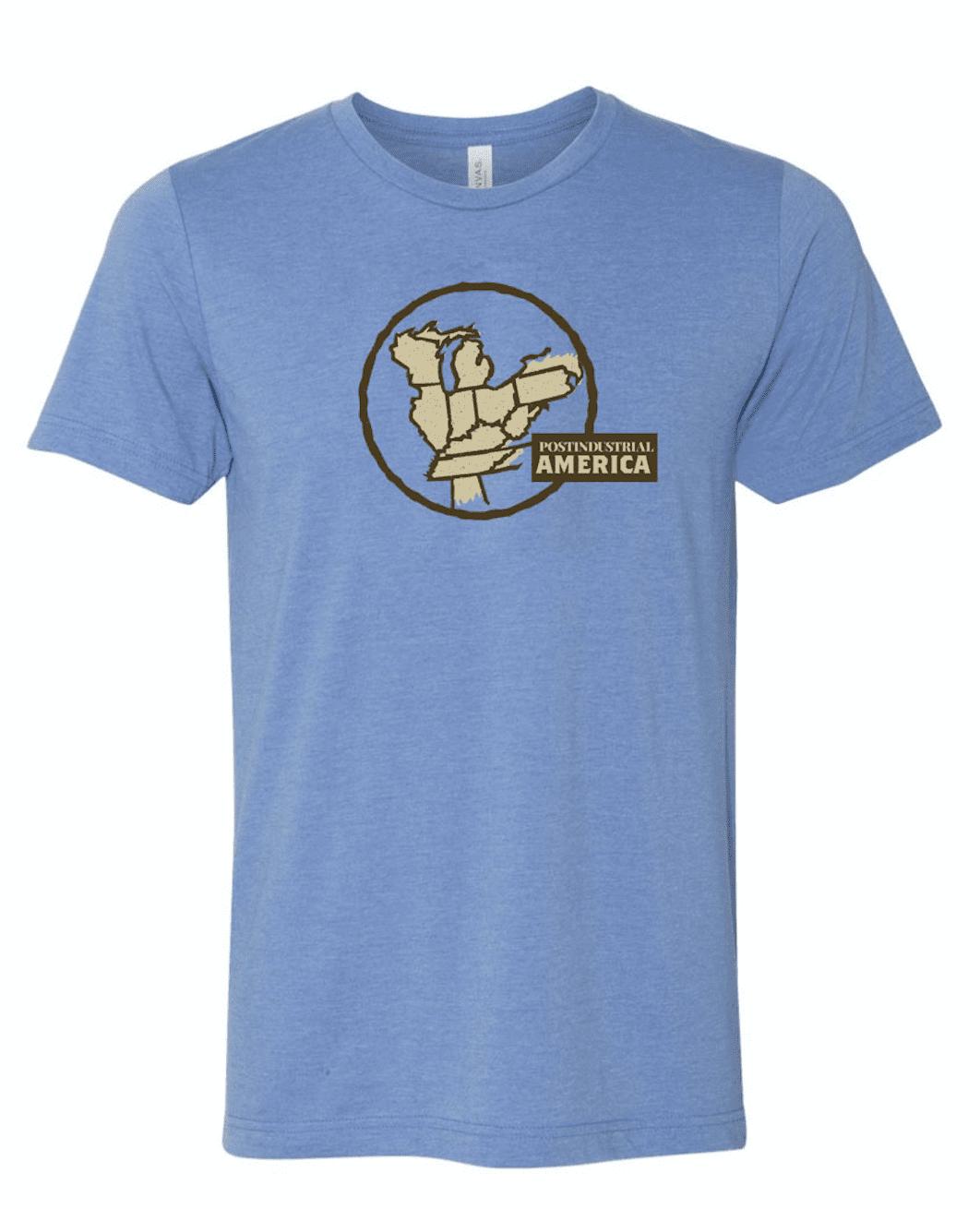 """Postindustrial America"" T-shirt"