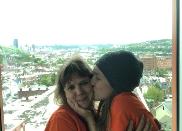 Robin Kindler and her daughter, Ashley.